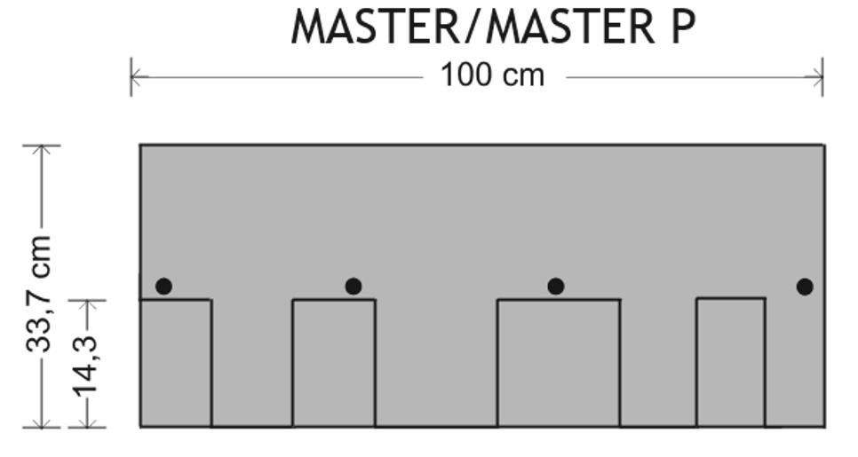 Master P šablona